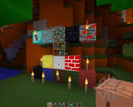 Beutiful simplicity [16x][1.8.1] для Minecraft