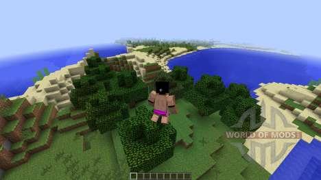Animated Player [1.7.2] для Minecraft