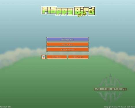 Flappy Bird Resource Pack [16x][1.8.8] для Minecraft