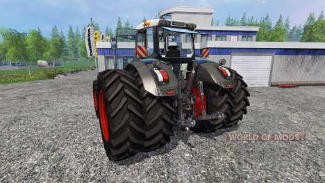 Fendt 828 Vario Black Beauty v2.0 для Farming Simulator 2015