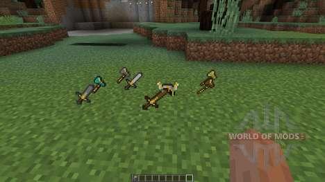 Xaeros Special Attacks [1.8] для Minecraft