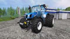 New Holland T6.175 twin wheels для Farming Simulator 2015