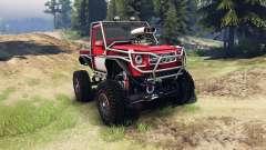 Mercedes-Benz G Bog Beast v2.0 для Spin Tires