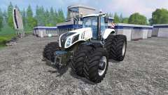 New Holland T8.320 White Dualls
