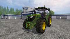 John Deere 6170R FL для Farming Simulator 2015