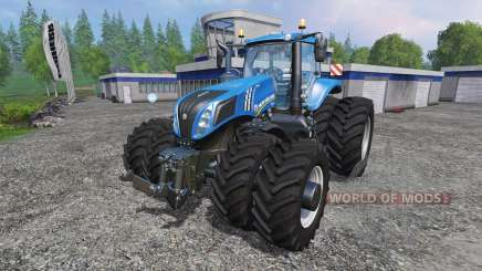 New Holland T8.275 Twin Wheels v1.1 для Farming Simulator 2015