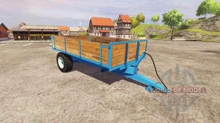 Одноосный самосвальный прицеп для Farming Simulator 2013