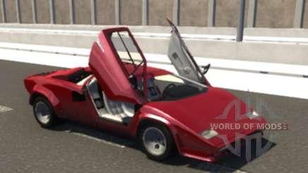 Lamborghini Countach для BeamNG Drive