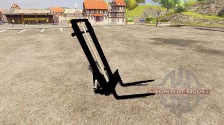 Вилочный погрузчик для Farming Simulator 2013