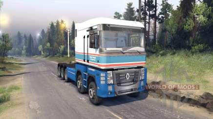 Renault Magnum для Spin Tires