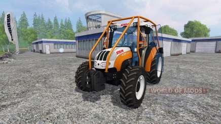 Steyr Kompakt 4095 forest для Farming Simulator 2015