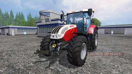 Steyr CVT 6130 EcoTech для Farming Simulator 2015