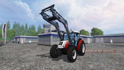 Steyr Kompakt 4095 front loader для Farming Simulator 2015