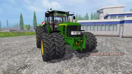 John Deere 6830 v1.1 для Farming Simulator 2015