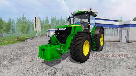 John Deere 7290R and 8370R v0.2 для Farming Simulator 2015