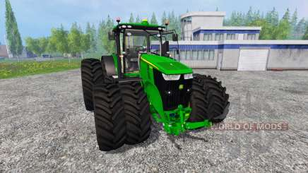 John Deere 7290R and 8370R v1.0b для Farming Simulator 2015