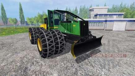 John Deere 748H для Farming Simulator 2015