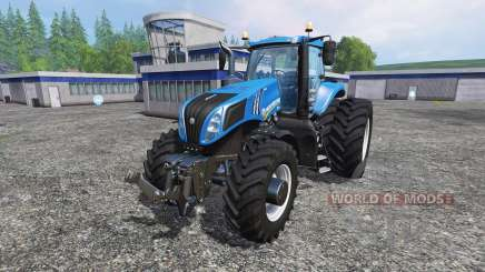 New Holland T8.275 Twin Wheels для Farming Simulator 2015