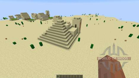 paintball map 7 для Minecraft