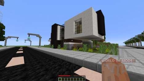 DJ Town для Minecraft