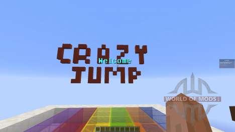 Crazy Jump Chalange для Minecraft