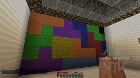 Tetris Escape для Minecraft