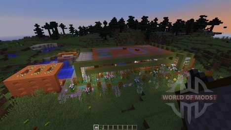 Modern Prarie House для Minecraft