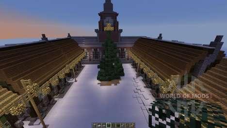 Winter Village для Minecraft
