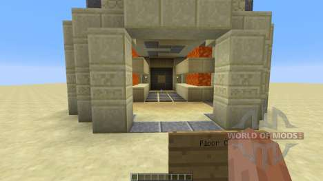 Redstone Mechanics Egyptian для Minecraft
