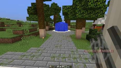 Contemporary colonial mansion для Minecraft
