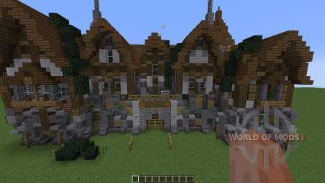 A Medieval Manor для Minecraft