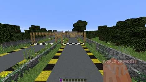 Minecraft Drag Racing для Minecraft