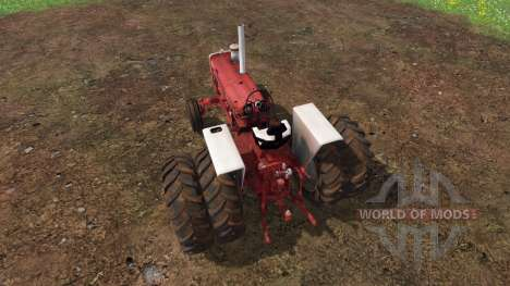 Farmall 1206 dually для Farming Simulator 2015