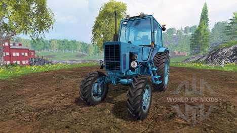 МТЗ-82 [edit] для Farming Simulator 2015
