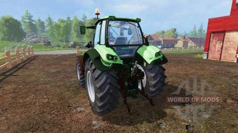 Deutz-Fahr Agrotron 7250 TTV v1.1 для Farming Simulator 2015
