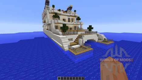 Luxury Yacht для Minecraft