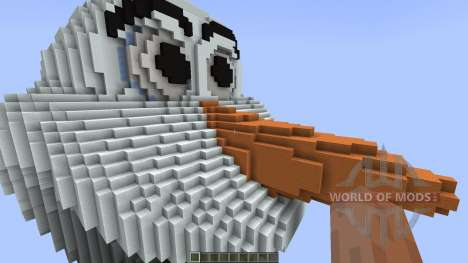 Disney Frozen Olaf [1.8][1.8.8] для Minecraft