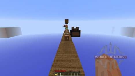 Super Mario Bros Parkour для Minecraft