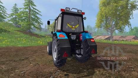МТЗ-82.1 Беларус тюнинг v2.3 для Farming Simulator 2015