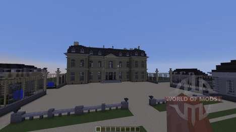 Château de Champs-sur-Marne для Minecraft