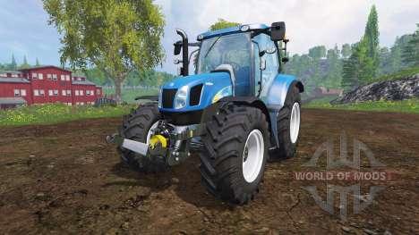 New Holland T6040 для Farming Simulator 2015