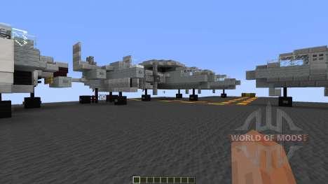USS Enterprise CVN65 для Minecraft