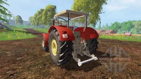Schluter Super 1050V v2.0 для Farming Simulator 2015