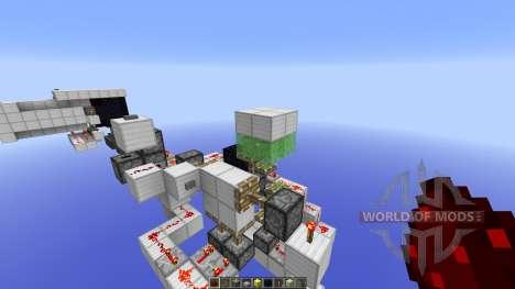 Secret Elevator EntranceExit для Minecraft