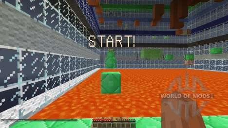 Ascend Minecraft Parkour Map [1.8][1.8.8] для Minecraft