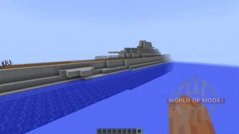 Surcouf Class Submarine [1.8][1.8.8] для Minecraft