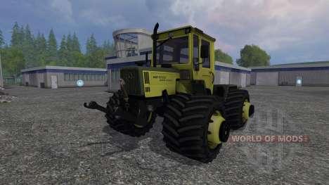 Mercedes-Benz Trac 1100 turbo v1.2 для Farming Simulator 2015