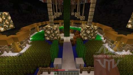 Epic Farm Base Treehouse для Minecraft