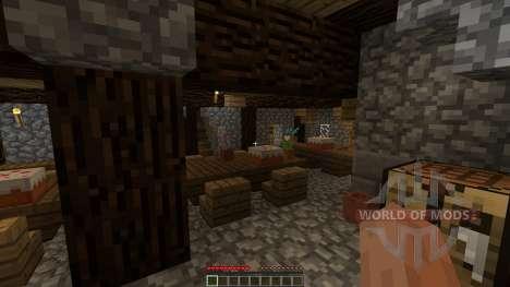 Fantasy nordic mansion для Minecraft