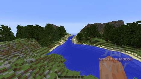 Island Glory для Minecraft